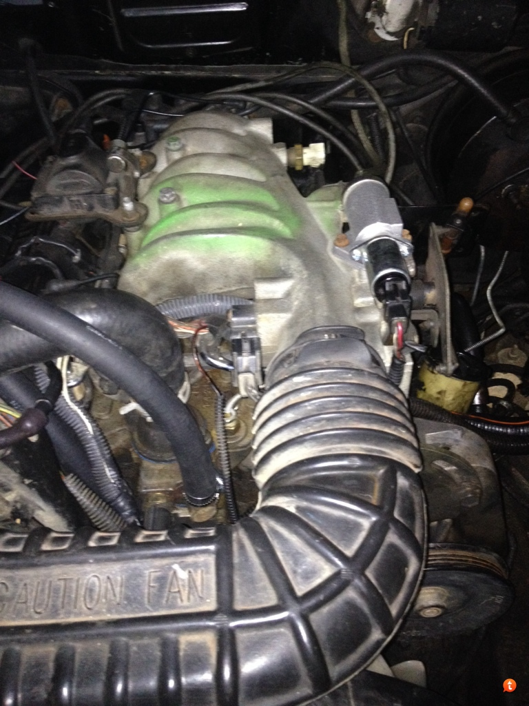 I have purchased a new iac and replaced it based off it being a 1993 Ford  Ranger 3.0. However I cannot find an engine diagram or picture of someone  else's ...
