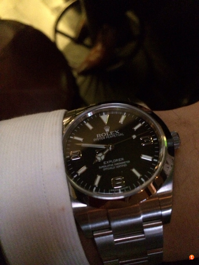 Explorer 1 39mm on strap/rubber band photos! , Rolex Forums