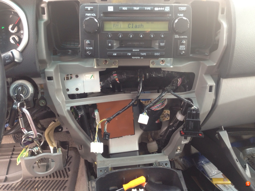 my pioneer avh x3500bhs head unit installation page 4 toyota looks like i need to go pay someone to install it and get correct parts errrr story of my life
