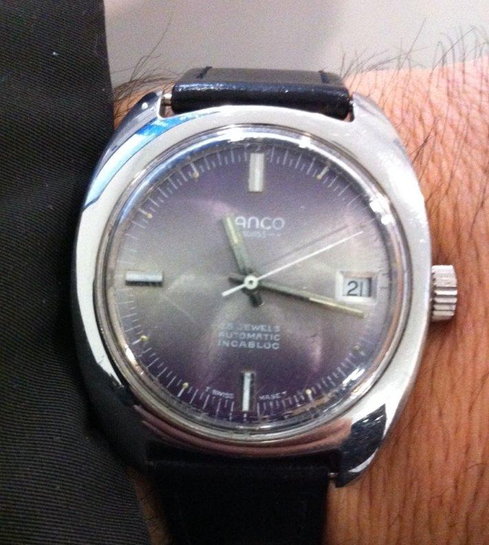 2afe602078f Lanco automatic watch age