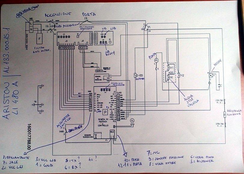 Schema Elettrico Lavatrice : Enciclopedia ariston li480a lavastoviglie plc forum