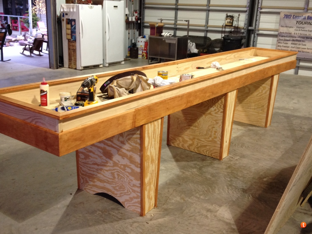 Shuffleboard Table Built...   TexasBowhunter.com Community Discussion Forums