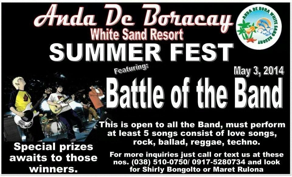 6u2uvaha - 2014 Battle of the Band in Anda, Bohol - Anda - Bohol