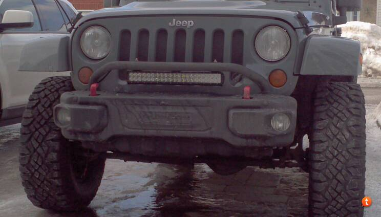 Bumper light bar position advice please jk forum the top sent from my mb860 using tapatalk 2 aloadofball Images