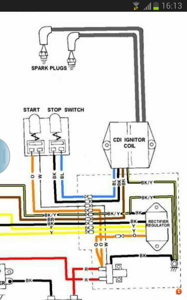 kill switch wiring? hagstrom wiring diagram when you press the stop button, does it make or break this circuit?