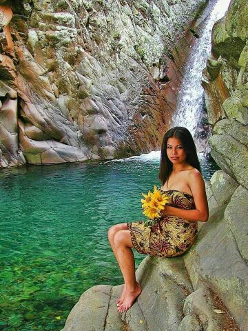 ma7e9y9u - Padudusan Falls, Canlaon City - Philippine Photo Gallery