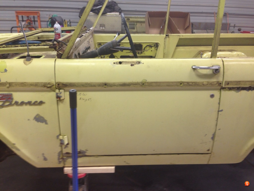The Duck Build. - Page 2 - ClicBroncos.com Forums Removal For Wiring Harness Frame Clips On A Early Bronco on