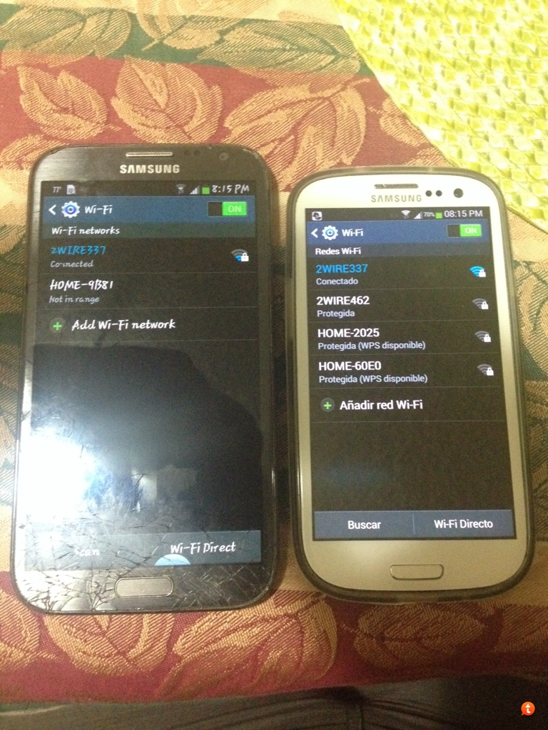 WIFI signal strength weak on Note 2 SGH-T889 any advice