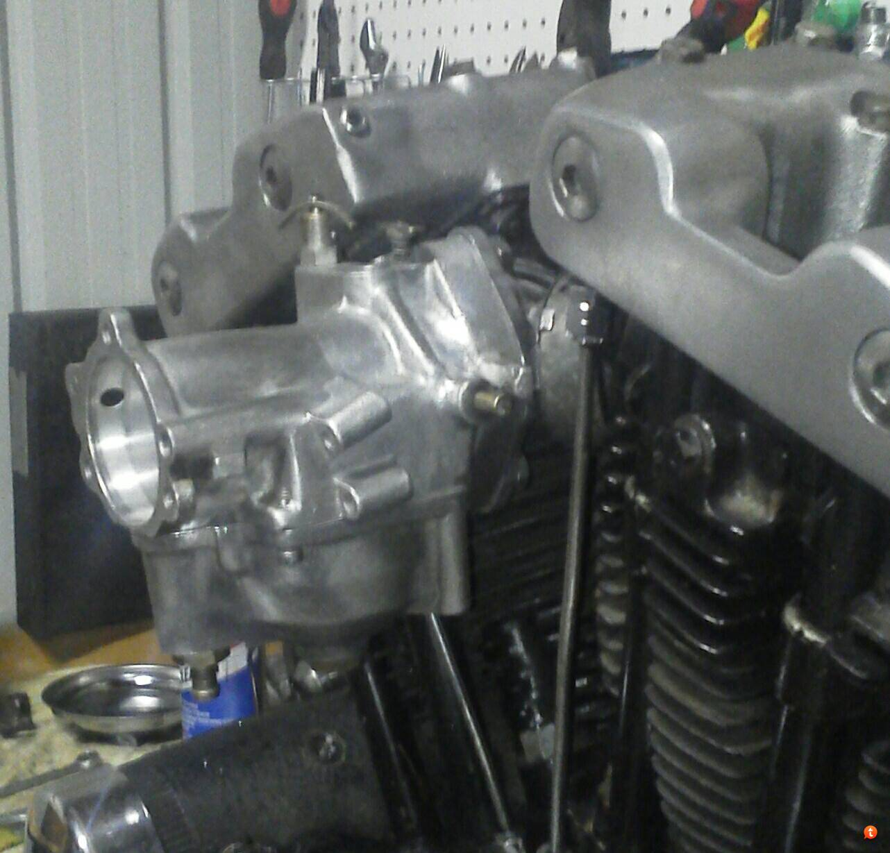 Ironhead Carb ??? [Archive] - The Sportster and Buell Motorcycle