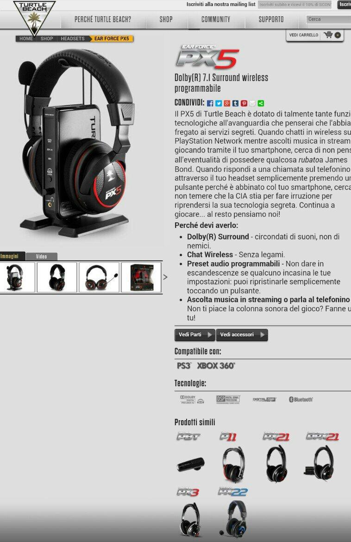 PS4  Cuffie Gaming  Archivio  - Pag 2 - GamesVillage Forum fad9958b5edb