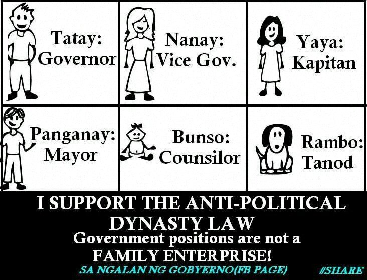 qe5yba8e - Political Dynasty in the Philippines - Talk of the Town