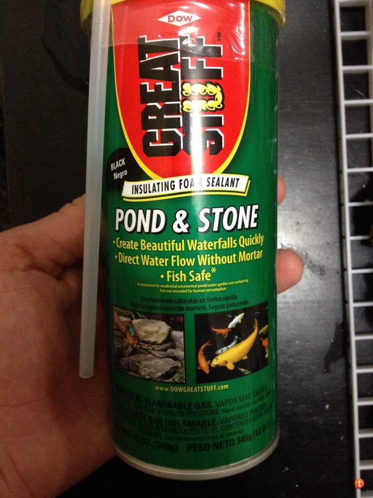 Great Stuff Pond Foam looks extremely toxic  What makes it