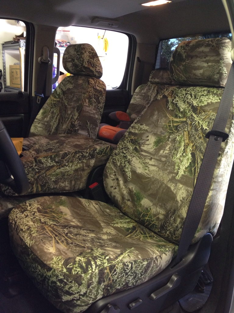Got my Headwaters seat covers in. [Archive] - TexasBowhunter.com Community  Discussion Forums