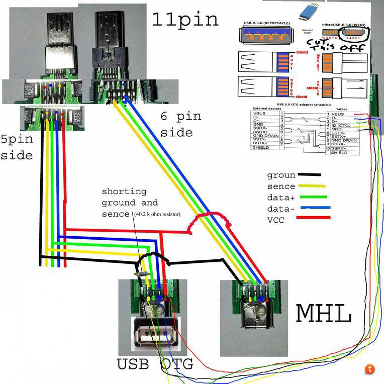 mu9uma3u diy smart dock for galaxy s3 pg 24 samsung galaxy s iii i9300 micro usb to hdmi wiring diagram at honlapkeszites.co