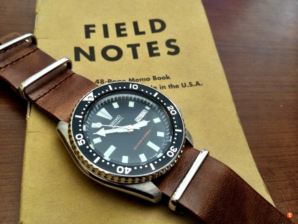 Recommend A Leather Strap For My Orient Black Ray