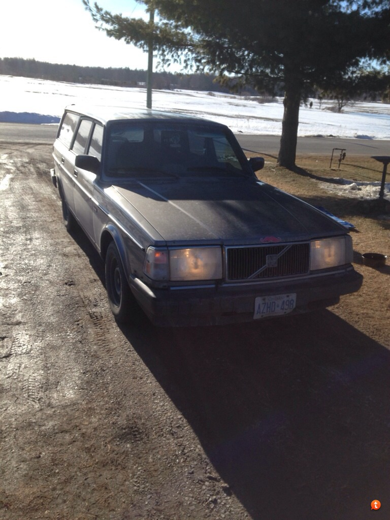 My Quest For A 1000000km Volvo 240 Content Page 4 Flame Trap Coming In The Shop Suspension Overhaul This Wednesday And Small Utility Trailer Summertime Is Works Currently At 742500km