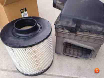 D3 Dozer air filter install