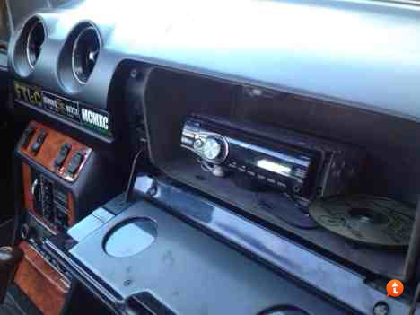 Aftermarket stereo help in glove box
