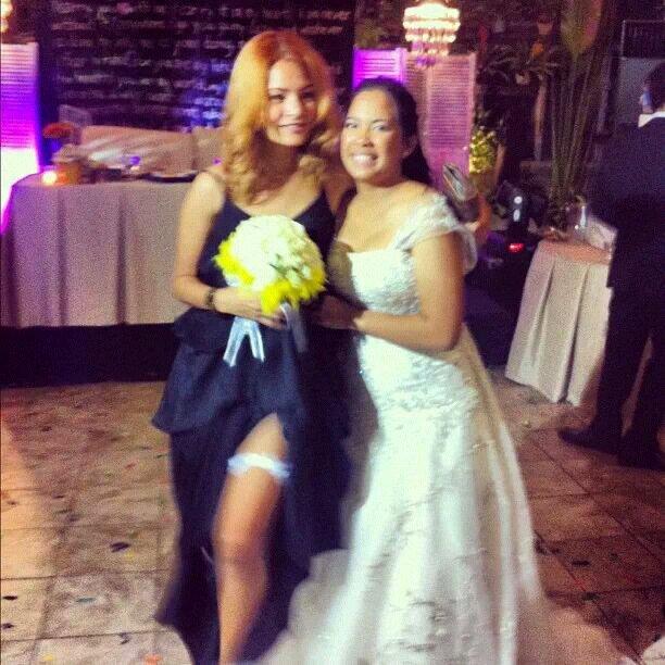 proxy - Helena Belmonte at a Wedding - Philippine Showbiz