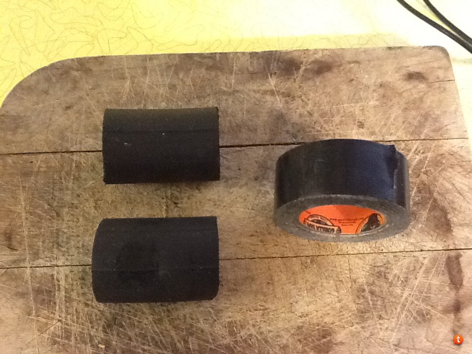 DIY Temporary Crossbow String Suppressors   Crossbow Nation