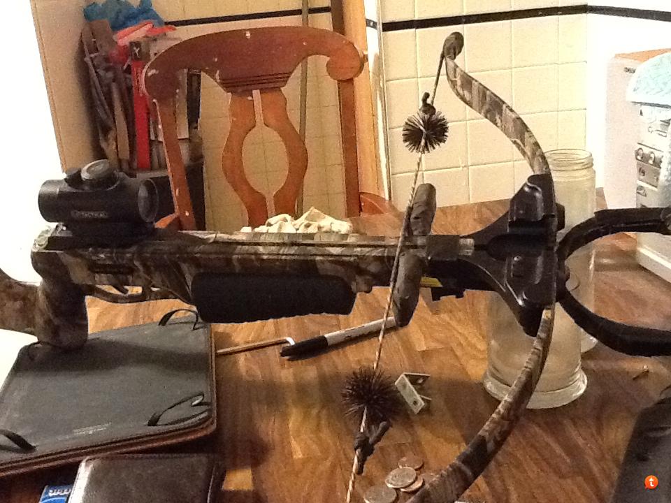 DIY Temporary Crossbow String Suppressors | Crossbow Nation