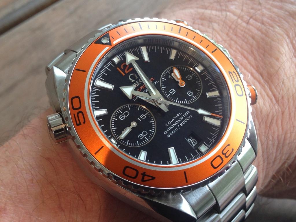 Omega Seamaster Planet Ocean Chrono Orange