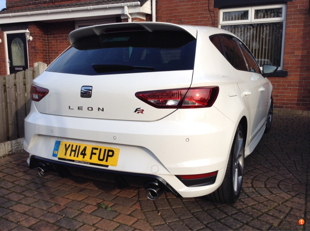 Leon FR184 with 2014 body kit  SEAT Cupranet  SEAT Forum