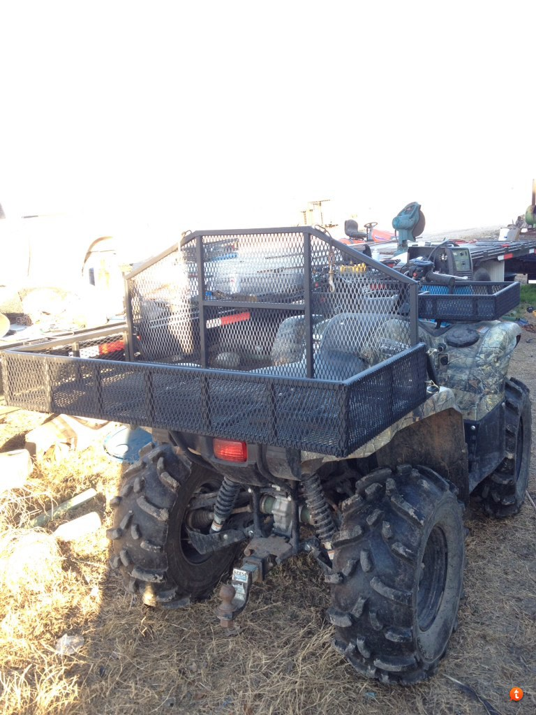 trailer hunting items atv fs other woods rack and index racks dog forum