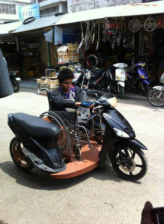 9avezypa - Wheel-chair Motorcycle - Weird and Extreme