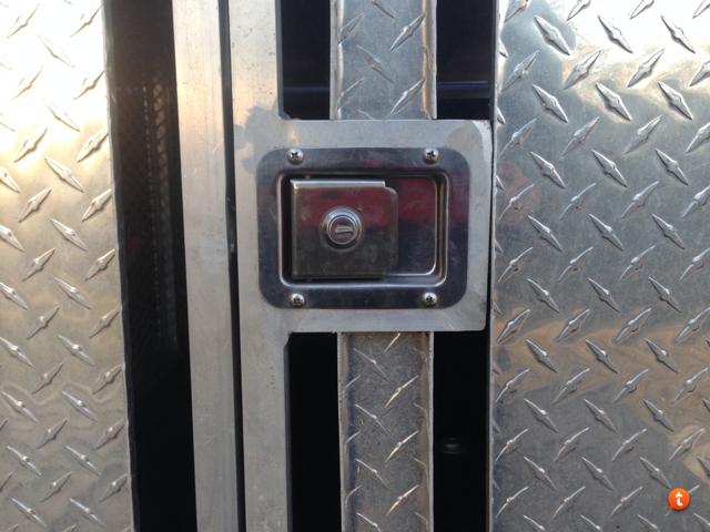 Aluminum Dog Box For 2007 Thru 2014 Toyota Tundra Crew Max
