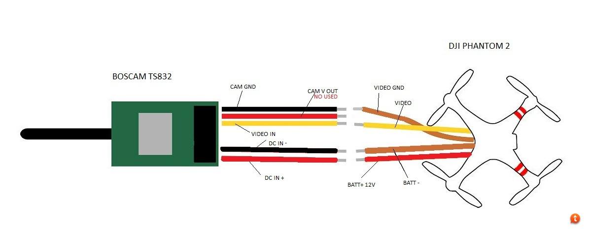 ahaje5u4 boscam ts832 and black pearl dji phantom drone forum ts832 transmitter wiring diagram at creativeand.co
