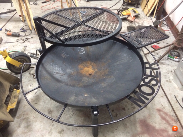 New Fire Pitgrill Texasbowhuntercom Community Discussion Forums