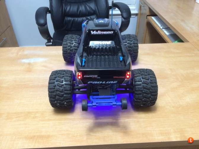 Heres My First Evening Night Ride Video Of Traxxas Stampede XL 5 With The Following Upgrades