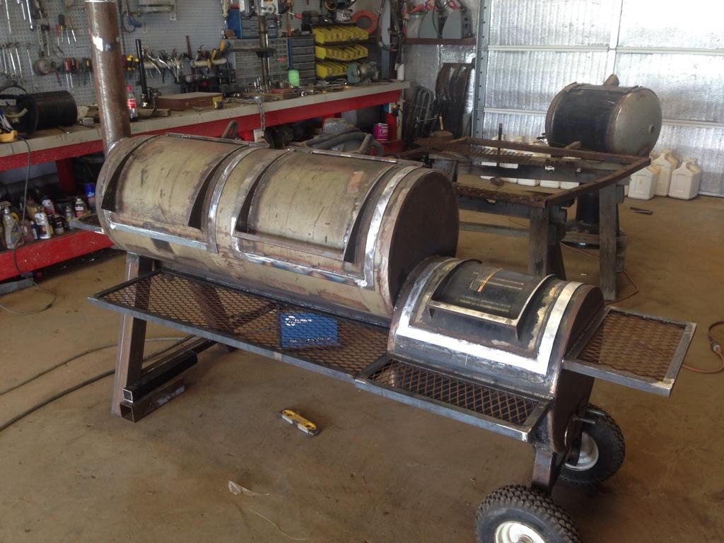 offset smoker build page 1 smokerbuilder com
