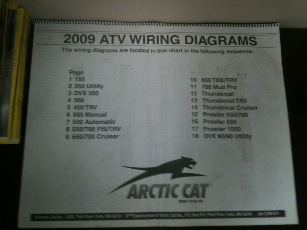 09 H1 700 Efi Mud Pro Wiring Diagram Page 2 Arctic Cat This Image Has Been Resized Click Bar To View The Full Original Is Sized 12