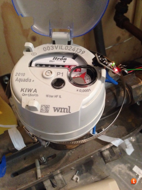 Domoticz watermeter