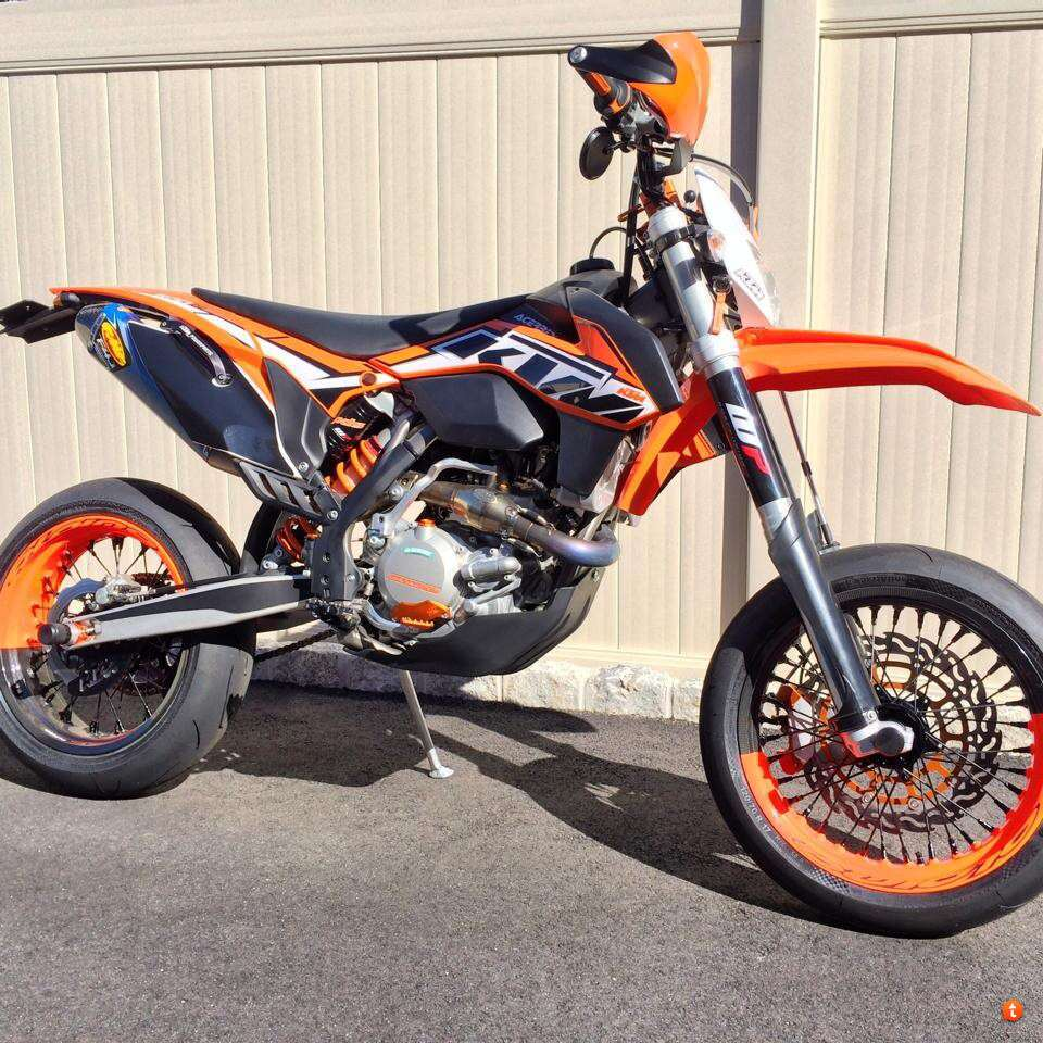 2012 KTM 500 EXC........Supermoto Awesomeness For the Streets ...