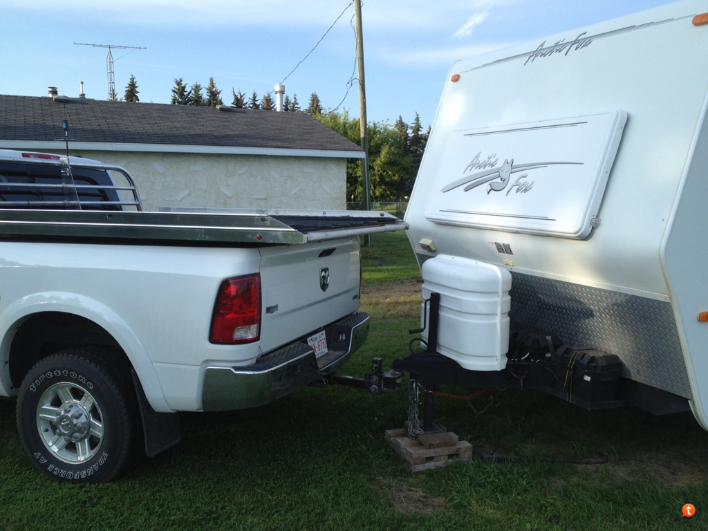 which sled deck for mega cab while pulling travel trailer???? - page 2