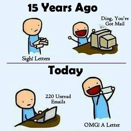 dyze3agu - Letter vs Email - Anonymous Diary Blog