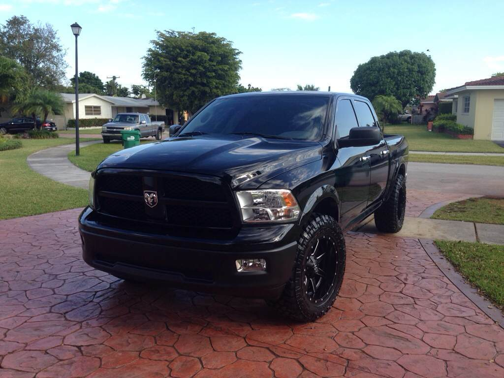 Leveling kit plus Body Lift infophoto thread  DODGE RAM FORUM