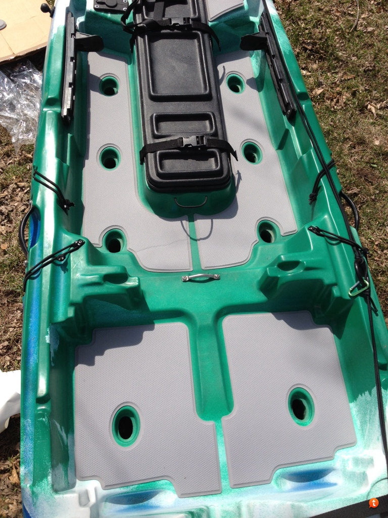 jackson kayak cuda seadek kit installed
