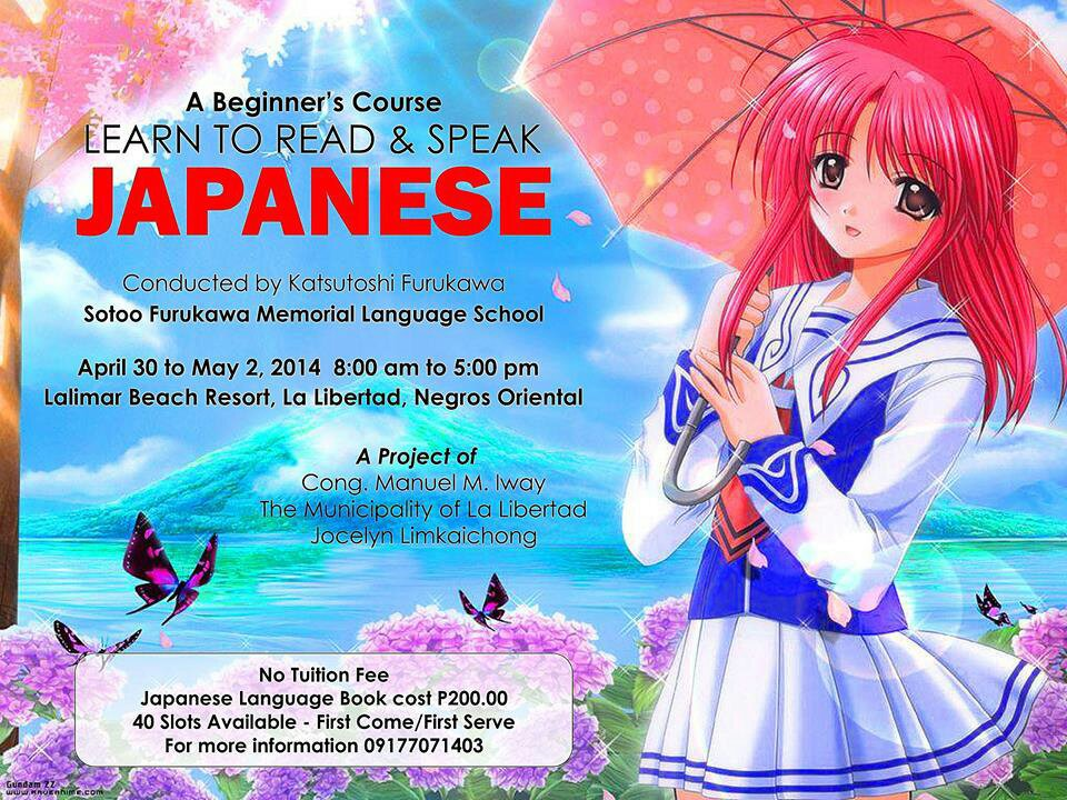 asezuban - Learn How To Speak Japanese in the Philippines - Philippine Education