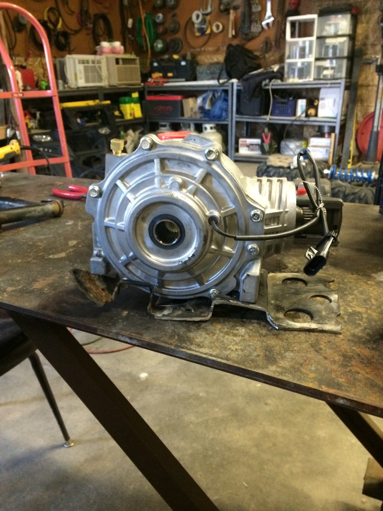 Rs1 Front Diff Swap