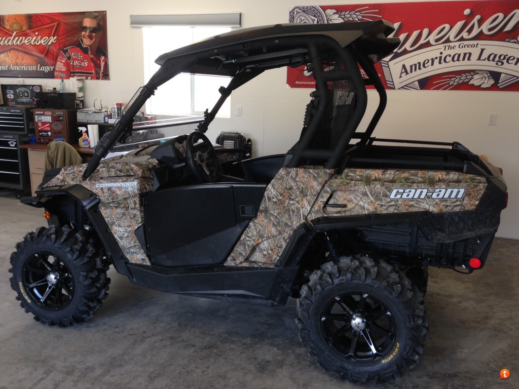 This image has been resized. Click this bar to view the full image. The original image is sized %1%2. & Turnkey Doors Installed - Can-Am Commander Forum