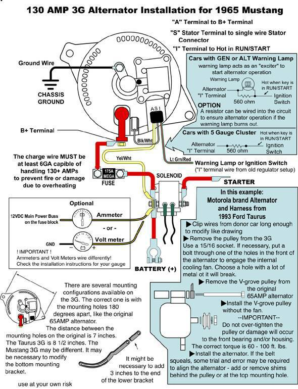 1985 mustang 3g alternator wiring - annavernon,Wiring diagram,Wiring Diagram For Alternator 1985 Mustang
