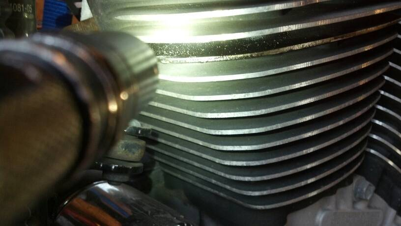 Blown head gasket? - Harley Davidson Forums: Harley