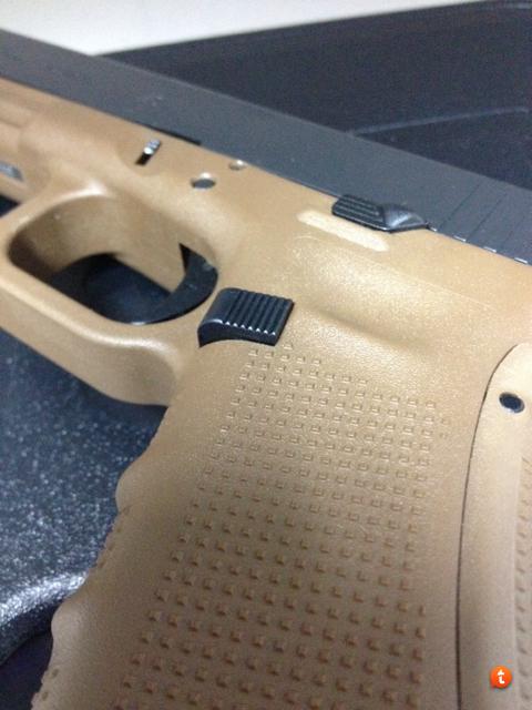 glock 34/35 gen 4 extended mag release? - Glock - Brian