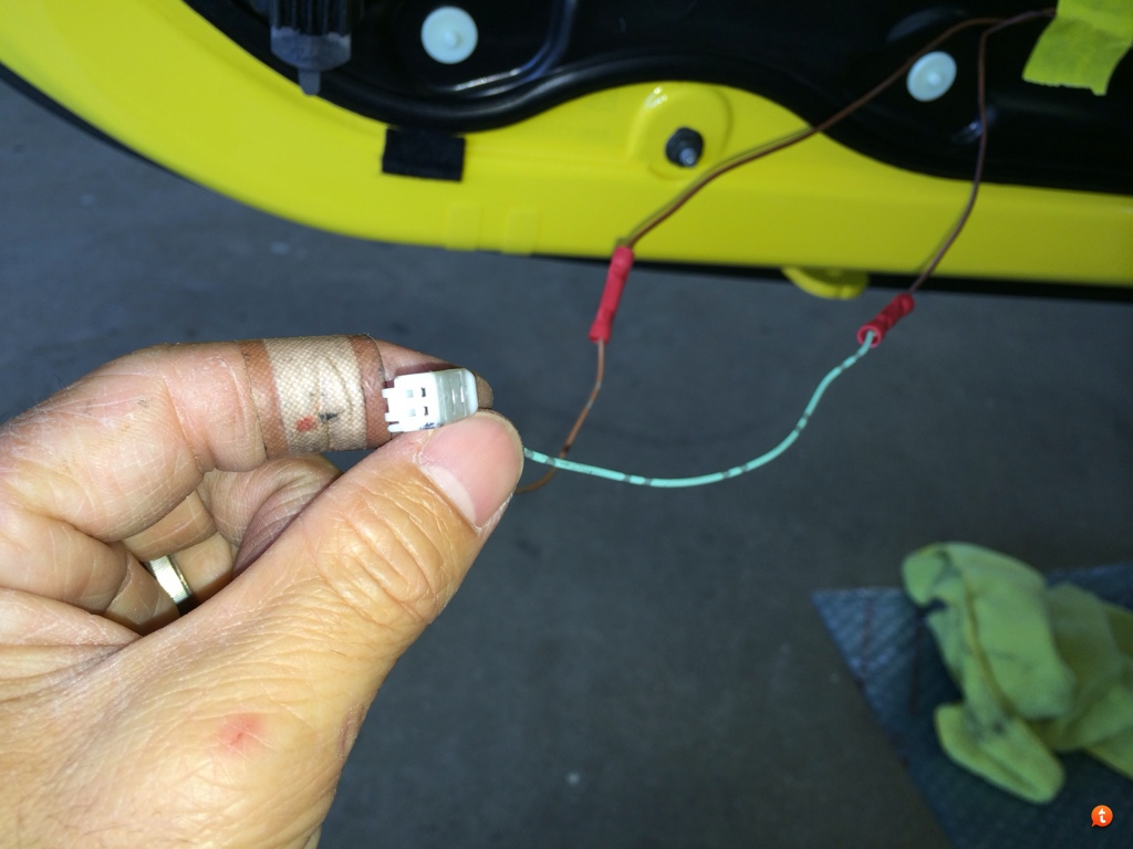 Diy Guide For Door Panel Courtesy Projector Light Porsche Macan Wiring Diagram After All Test Before Put Back The Trim