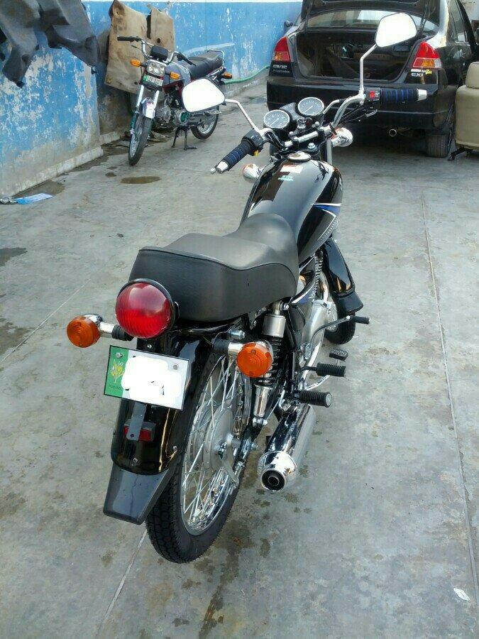 Suzuki GS 150 turn it into Old Retro Style Bike - 2ygazezy