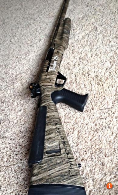 Benelli Super Black Eagle Steady Grip Turkey Gun